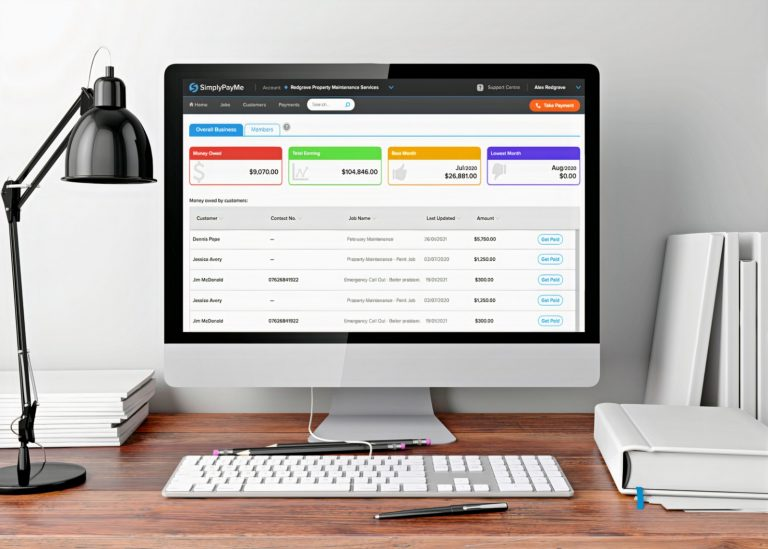 simplypayme online dashboard