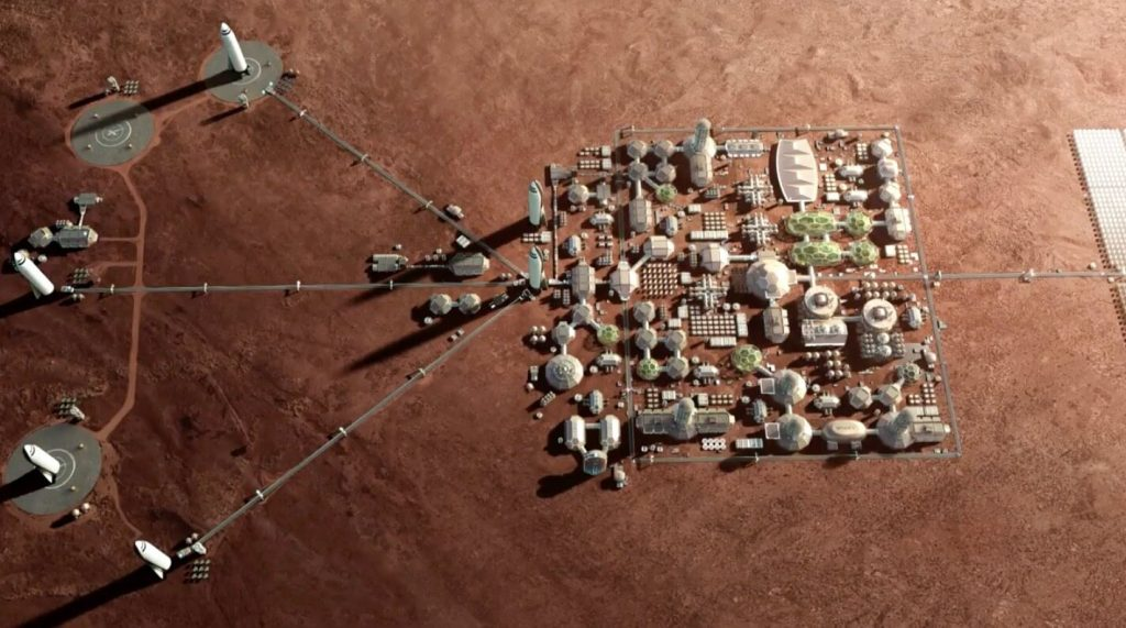 Mars Colony Would Be a Hedge Against World War III, Elon Musk Says | Space